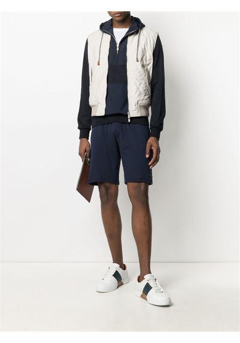 Beige wool zipped quilted vest featuring front zip fastening ELEVENTY |  | C75GBTC24-GBT270076200