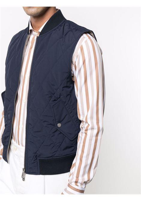 Gilet senza maniche Rain System in misto lana blu ELEVENTY | Gilet | C75GBTC24-GBT270078200
