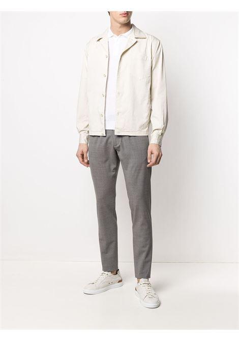Pantaloni slim fit in lana elasticizzata grigio medio ELEVENTY | Pantaloni | C75PANB21-TES0A05313