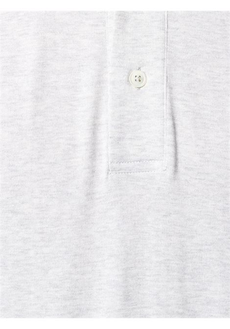 Grey cotton short-sleeve polo shirt  ELEVENTY |  | C75POLC01-TES0C17313