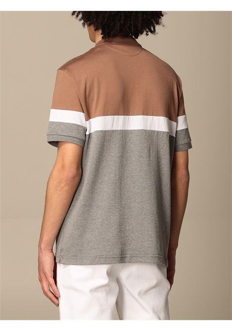 multicolored cotton colour-block polo shirt  ELEVENTY |  | C75POLC04-TES0C176140104