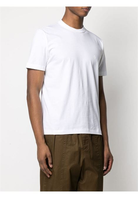 White cotton short-sleeved T-shirt  ELEVENTY |  | C75TSHC14-TES0C10801