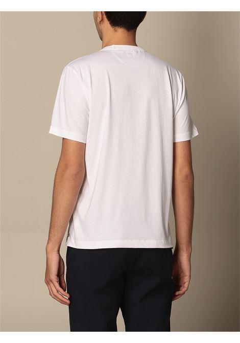 t-shirt a maniche corte in cotone bianco ELEVENTY | T-shirt | C75TSHC14-TES0C10801