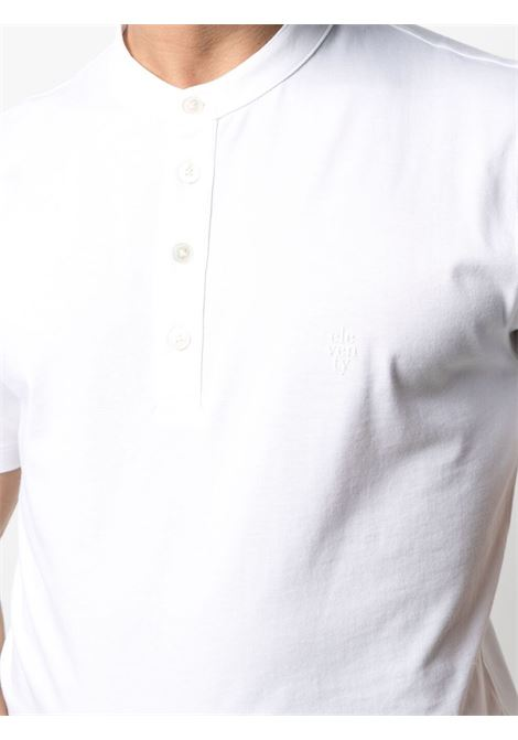 White cotton band-collar T-shirt  ELEVENTY |  | C75TSHC15-TES0C10801
