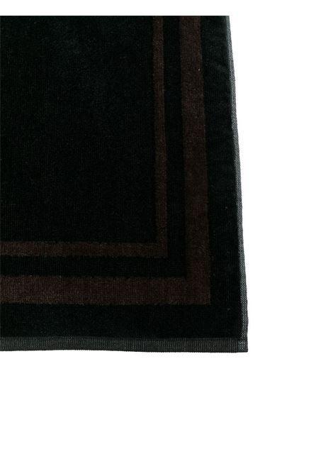 telo mare blu scuro con strisce marroni ELEVENTY | Teli Mare | C77ACCC02-TES0C15911