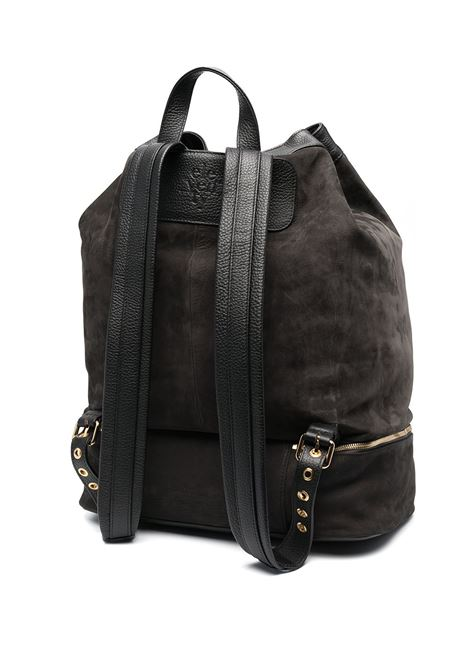 Charcoal grey deer skin backpack   ELEVENTY |  | C77BORC02-PEL0C01706