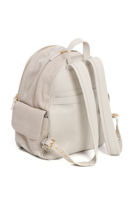 Sand calf leather multi-pocket backpack  ELEVENTY |  | C77BORC04-PEL0C01702