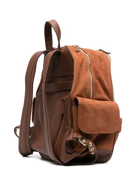 Brown deerskin suede backpack  ELEVENTY |  | C77BORC04-PEL0C01704