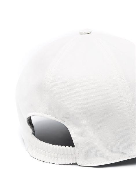 Cappellino in cotone bianco con logo Eleventy ricamato ELEVENTY | Cappelli | C77CPLC01-TES0C16102