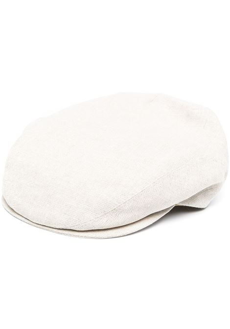 Coppola in lino bianco sporco ELEVENTY | Cappelli | C77CPLC05-TES0C16402