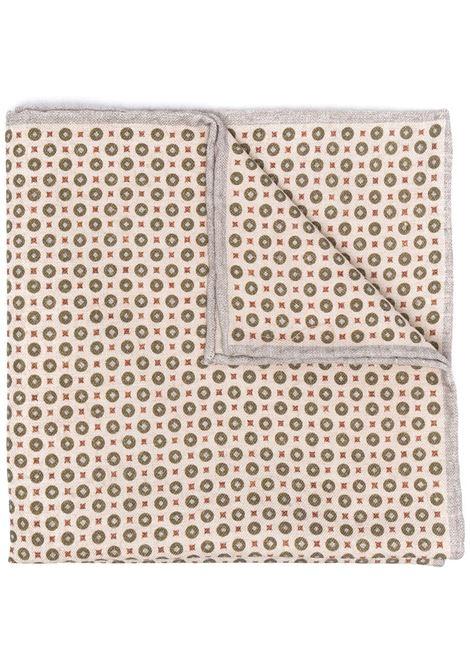 Pochette da taschino beige in misto cotone e lana ELEVENTY | Pochette | C77POCA01-TES0C09607