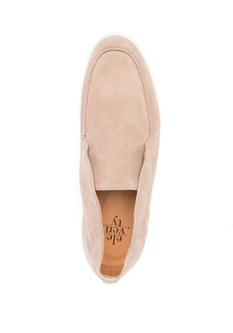 Beige suede and leather rubber-sole loafers  ELEVENTY |  | C77SCAC03-SCA0C00800