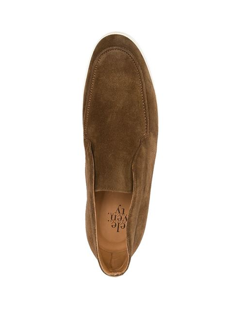 Tan suede and leather loafers  ELEVENTY |  | C77SCAC03-SCA0C00805