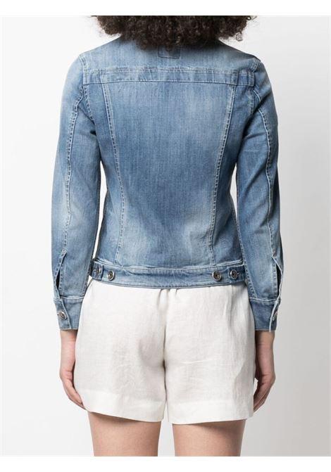Blue cotton classic denim jacket ELEVENTY |  | C80GBTC02-TES0C21411