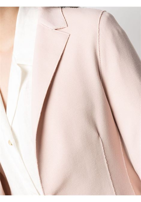 Soft pink cotton blend classic tailored blazer  ELEVENTY |  | C80GIAA05-TES0A16271