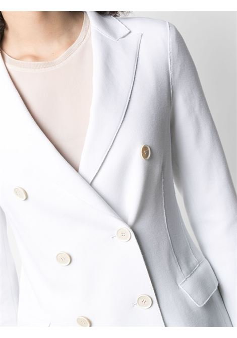 White cotton double breasted blazer  ELEVENTY |  | C80GIAA06-TES0A162135