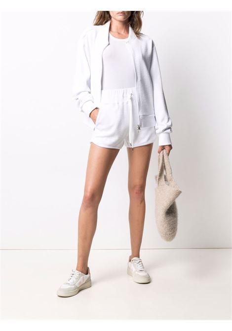 Shorts aderenti in cotone bianco con coulisse dal taglio slim ELEVENTY | Shorts | C80PANC04-TES0C20101