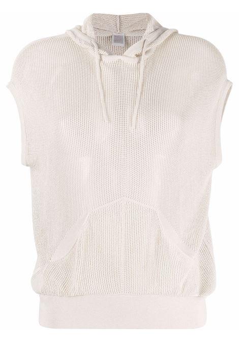 Felpa senza maniche in maglia beige sabbia ELEVENTY | Maglieria | C81MAGC17-MAG0C06900