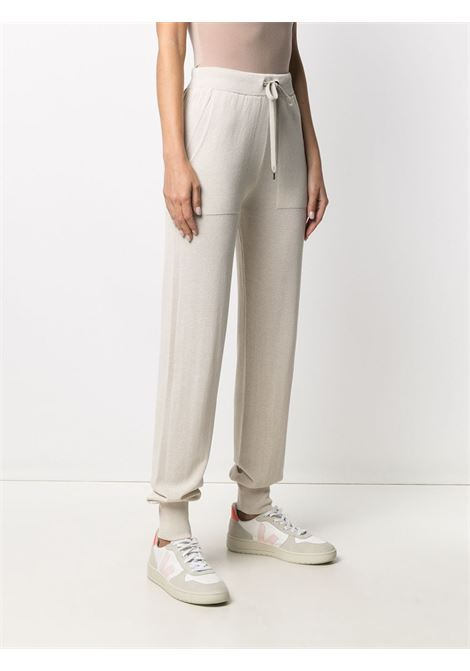Pantaloni con coulisse in maglia beige con elastico in vita ELEVENTY | Pantaloni | C81PANB01-MAG0C06500
