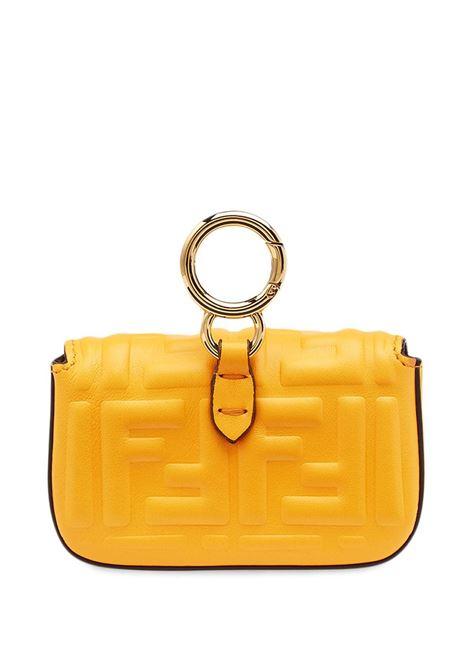 Mini bag Nano Baguette in nappa color clementine FENDI | Borse a tracolla | 7AR844-AAJDF1DZH