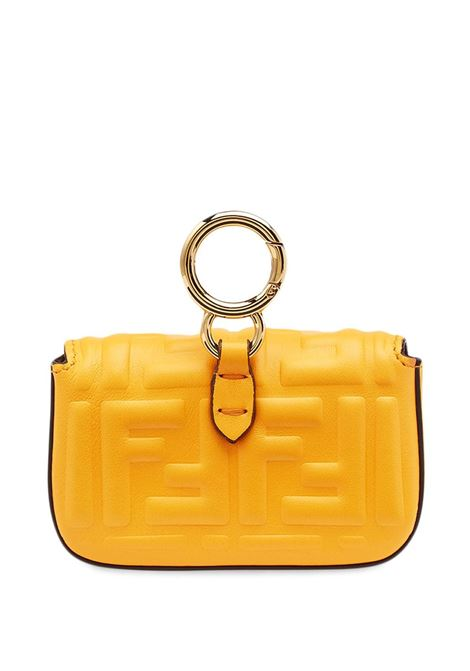 Clementine nappa leather Nano Baguette mini bag  FENDI |  | 7AR844-AAJDF1DZH