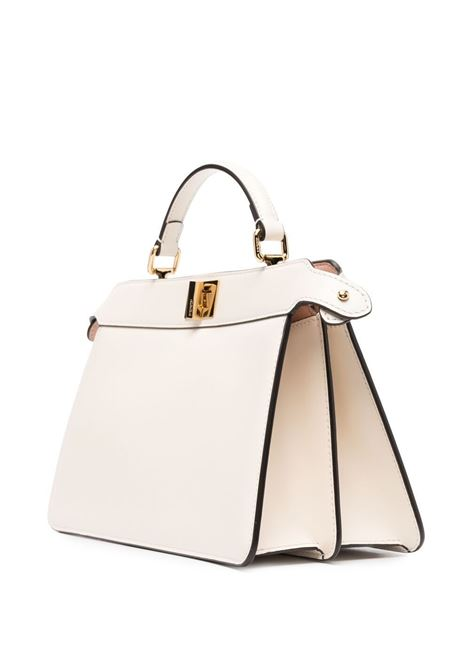 White leather Peekaboo ISeeU tote bag  FENDI |  | 8BN323-ADYCF1CMP