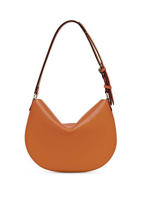 Brown calf leather small Croissant shoulder bag  FENDI      8BR790-AF2PF1C6J
