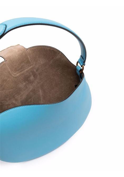sky blue calf leather small Croissant shoulder bag  FENDI      8BR790-AF2PF1E8E