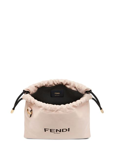 Pink lambskin small sack bag FENDI |  | 8BT337-ADM9F1CN7