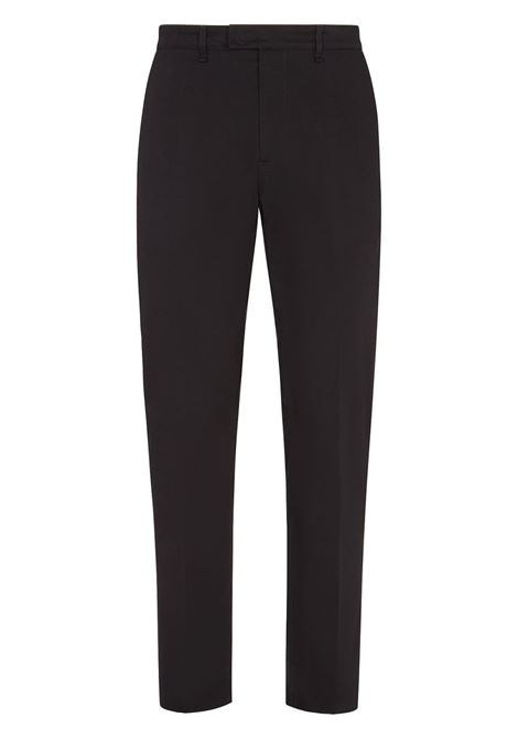 Black stretch-cotton high-waist tailored trousers   FENDI |  | FB0683-AFE5F0QA1