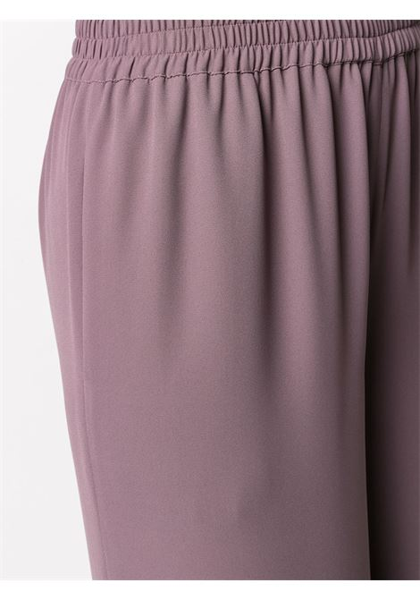Faded purple elastic waist palazzo pants  GIANLUCA CAPANNOLO |  | 21EP455-250 ANTONIA328