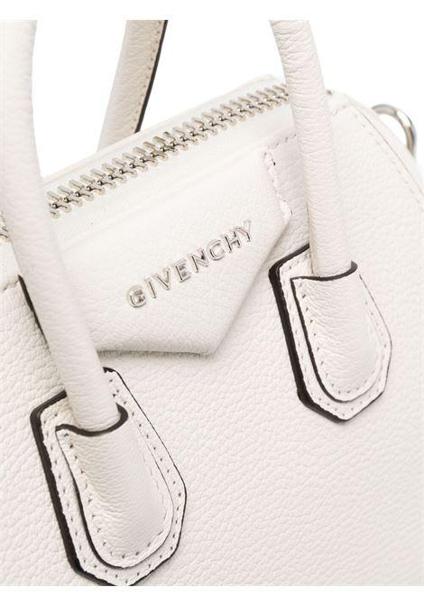 White goat skin mini Antigona tote bag  GIVENCHY |  | BB05114012-ANTIGONA105