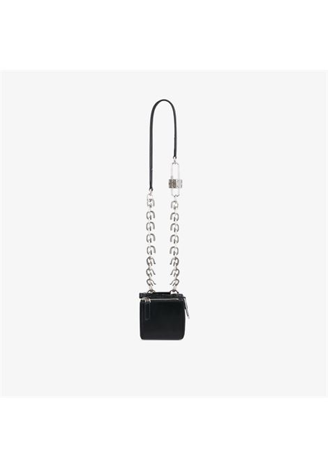 Black calf leather Pandora Cube Mini Box leather mini bag  GIVENCHY |  | BB60FJB12L-PANDORA001