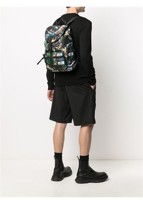 Multicolour graphic print backpack featuring graphic print  GIVENCHY |  | BK500MK12N-LIGHT 3960