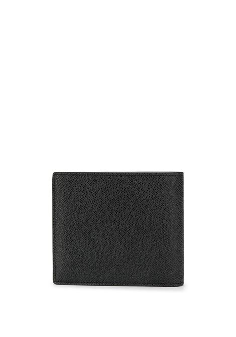 portafoglio bi-fold in pelle di vitello nero con logo Givenchy color oro GIVENCHY | Portafogli | BK6005K0UF-BILLFOLD 8CC001
