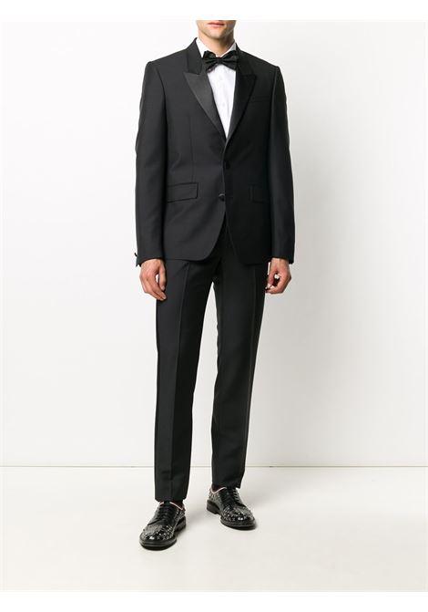 Black slim-fit tuxedo suit GIVENCHY |  | BM102J100H001
