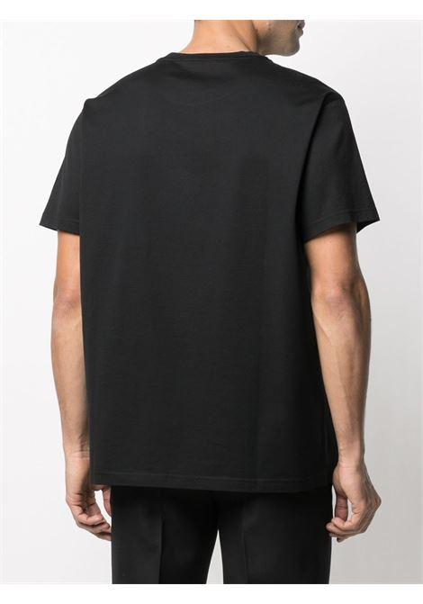 Black cotton Neon Lights print T-shirt  GIVENCHY |  | BM710M3002001