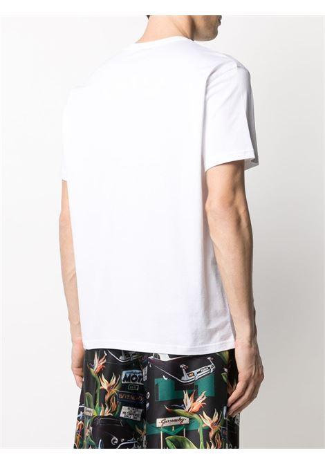 White cotton Givenchy Neon logo print T-shirt   GIVENCHY |  | BM71123002100