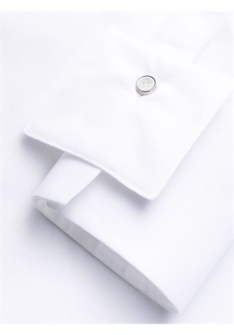 White cotton dress with shirt collar GIVENCHY |  | BW214113MR100