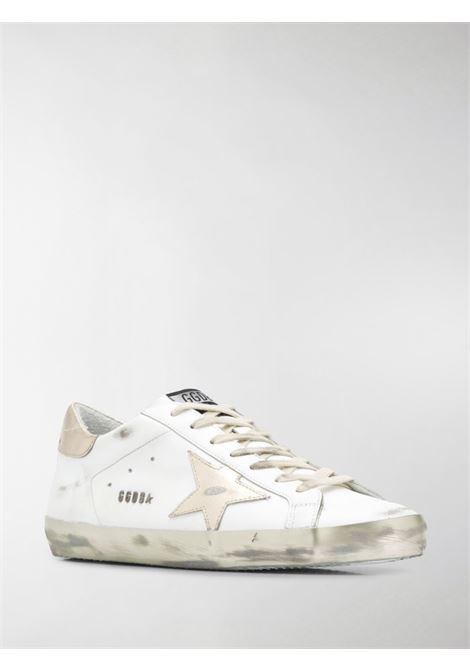 White leather Superstar low-top sneakers featuring distressed finish GOLDEN GOOSE |  | GMF00101-F00031610272