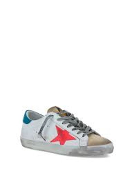 White leather Superstar sneakers featuring pink star to the sides GOLDEN GOOSE |  | GMF00101-F00034780310