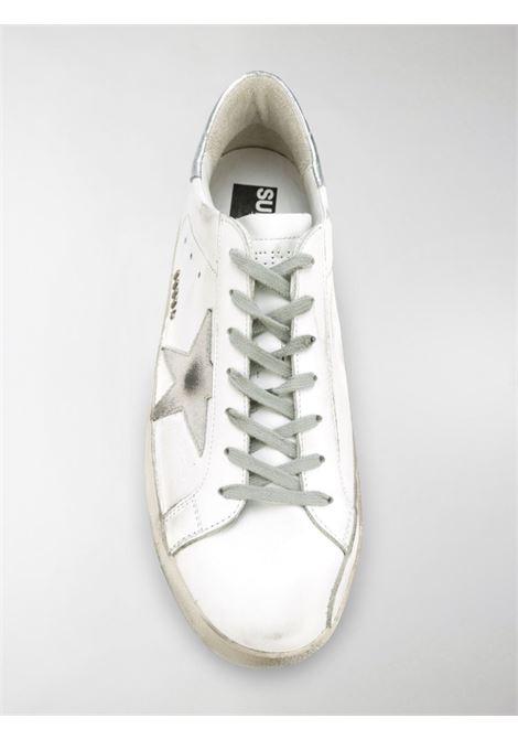 Sneaker  Superstar bianca e argento con effetto consumato GOLDEN GOOSE | Sneakers | GMF00102-F00031710273
