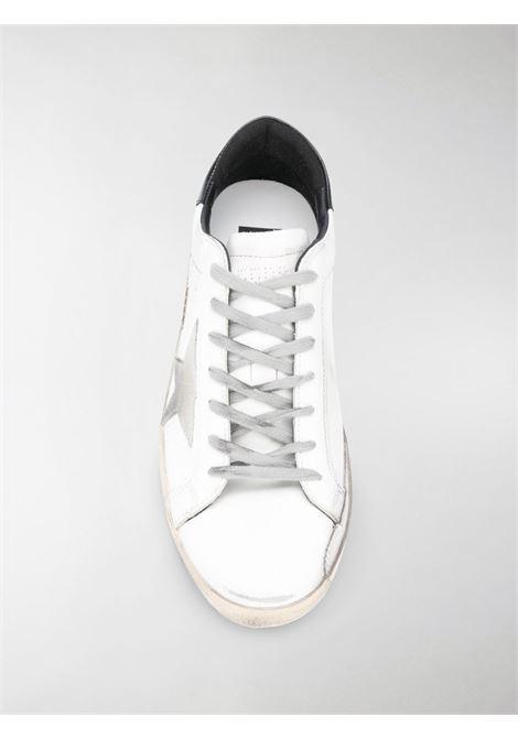 Sneakers Superstar in pelle bianca, nera e beige con effetto consumato GOLDEN GOOSE | Sneakers | GMF00102-F00031810220