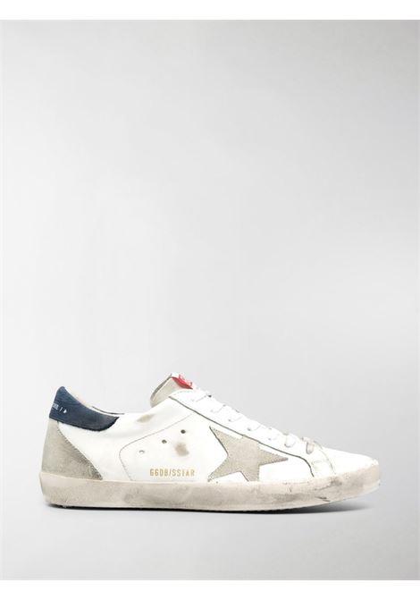 Sneaker bassa Superstar in pelle e camoscio bianco GOLDEN GOOSE | Sneakers | GMF00102-F00034010297