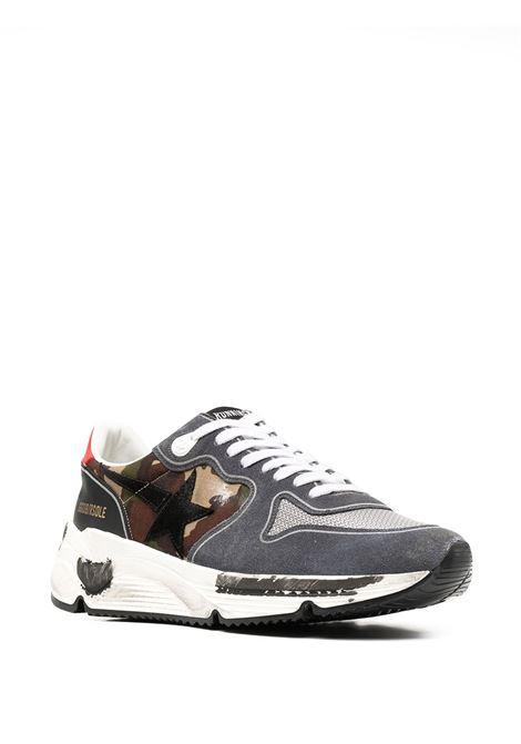 sneakers stringate con dettaglio fury camo e tallone rosso GOLDEN GOOSE | Sneakers | GMF00126-F00041180364