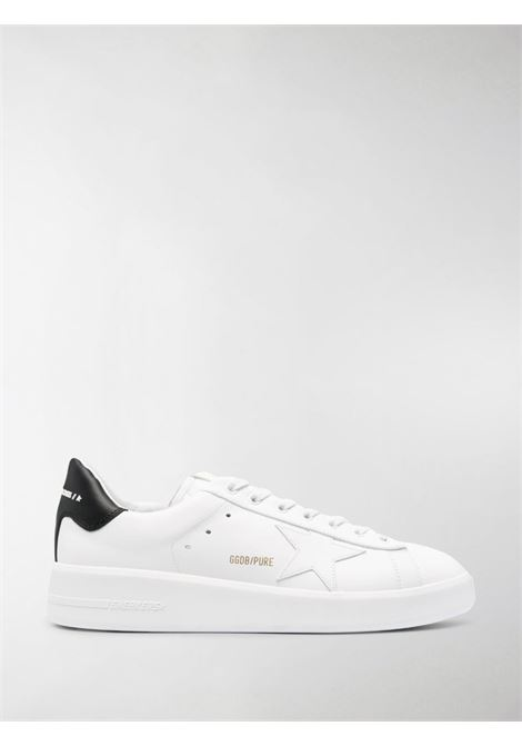 White leather Pure lace-up sneakers featuring white star to the side and black detail GOLDEN GOOSE |  | GMF00197-F00053710283