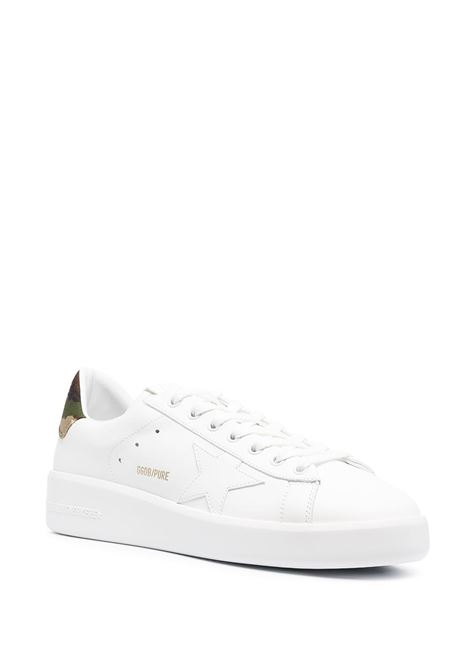 White leather Purestar low-top sneakers featuring white star to the sides GOLDEN GOOSE |  | GMF00197-F00117210267