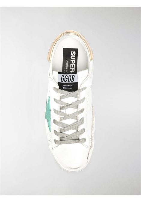 Sneaker basse Superstar in pelle bianca effetto invecchiato GOLDEN GOOSE | Sneakers | GWF00101-F00021210243