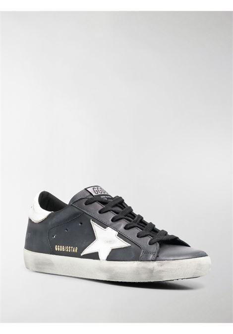 Sneakers Superstar in pelle nera e bianca con stella bianca sui lati GOLDEN GOOSE | Sneakers | GWF00101-F00032180203