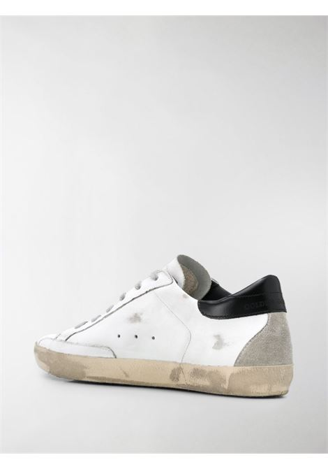 White leather Superstar low-top sneakers featuring distressed effect GOLDEN GOOSE |  | GWF00102-F00031810220